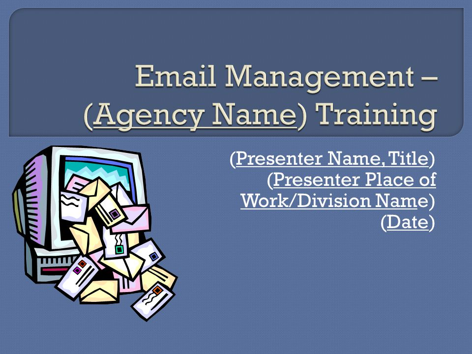  (List Agency Mandatory Folder Structure, includes Folder Name (Retention Requirement)) – (Description of Records) (Examples)  PERMANENT (State Archives)  LEGAL HOLDS (Release) – Litigation only.