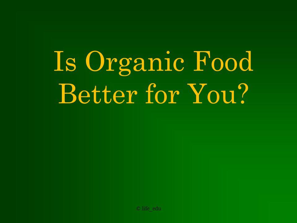 © life_edu Organic Advocates Argue: Wiser Land Use.
