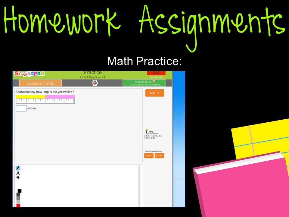Math Practice: