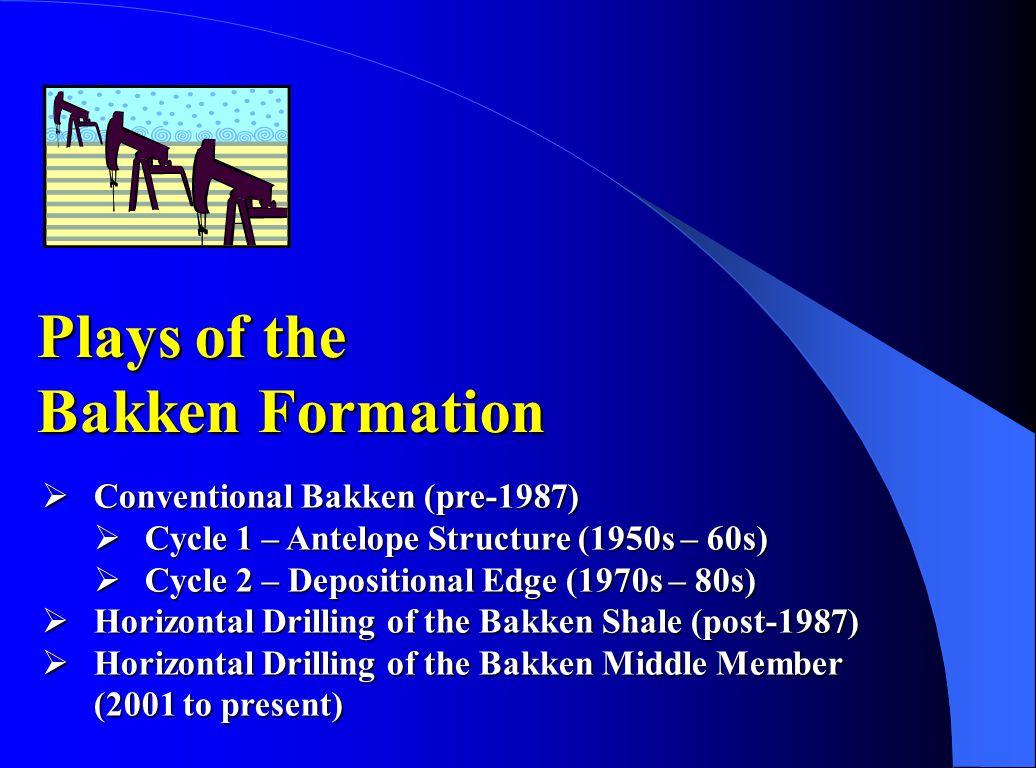 Bakken Middle Member Prairie Salt Montana North Dakota Prairie Salt Edge Contour Interval ft