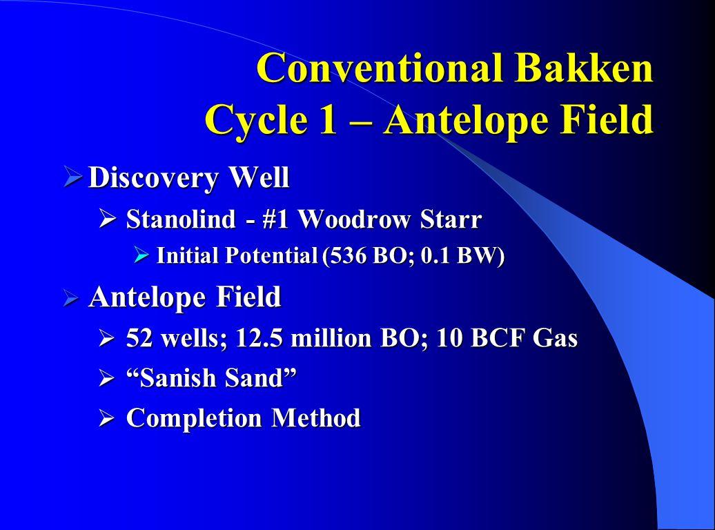 Conventional Bakken Exploration between Cycles  Elkhorn Ranch  Shell Oil Co.
