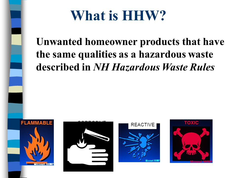 What is HHW.