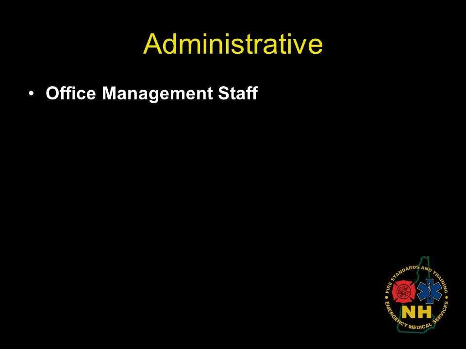 Administrative Office Management Staff
