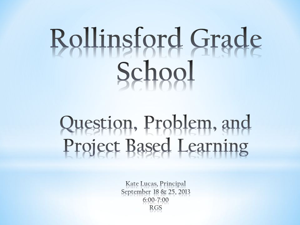 When curriculum, instruction, and assessment shift out of the covers of a textbook and into the real-world context of projects, everything changes.