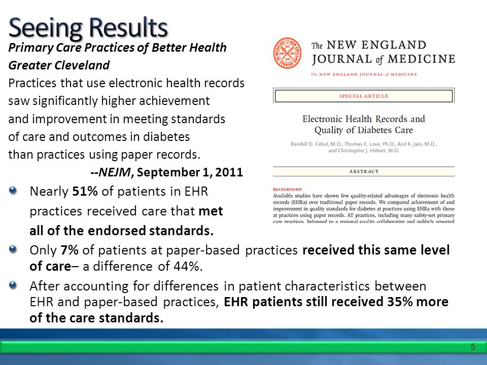 16 Highest utilizers of HIOs – office staff, medical records staff, nurse practitioners Real cost savings seen in the administrative processes – referrals, prior authorization Communication with the patient Point of care reminders PCP's who have EHR's now want HIE www.nj.gov/njhit