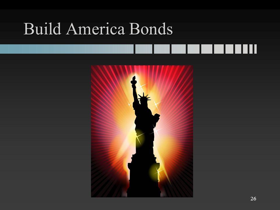 Build America Bonds 26