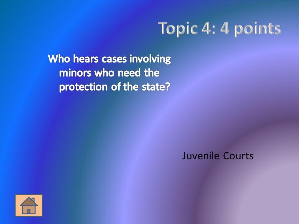 Juvenile Courts