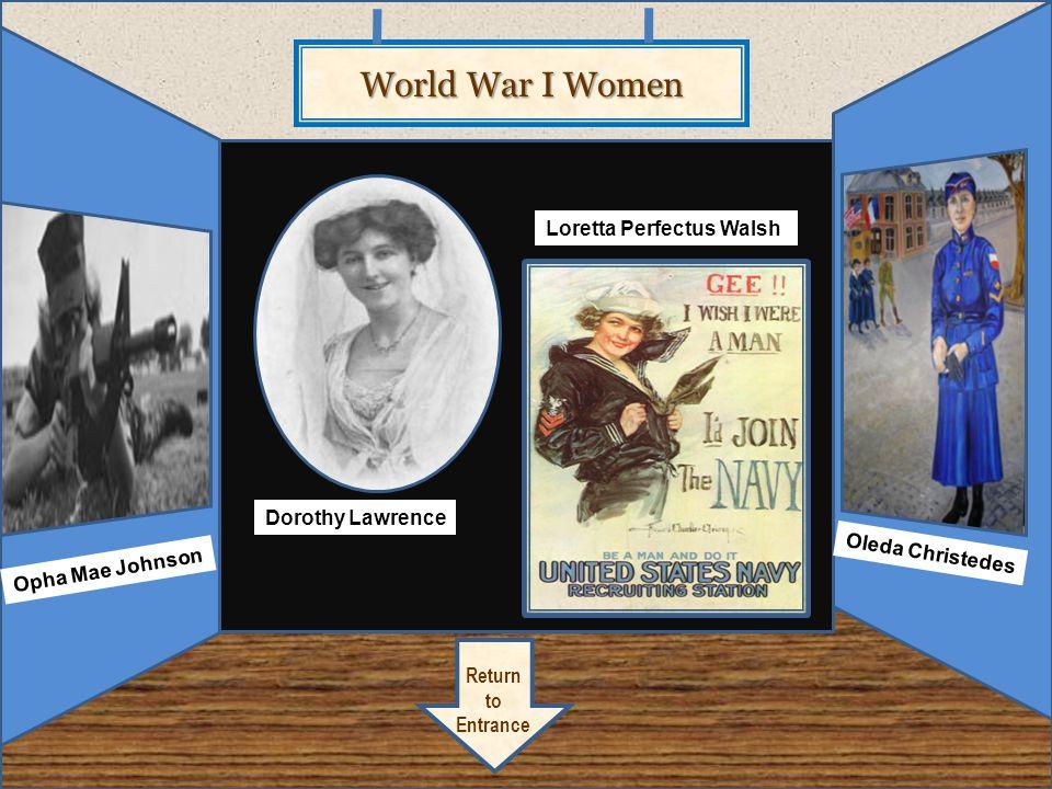 World War Two Wonders Artifact 4.2 Return to Entrance Nancy Love Jacqueline Cochran Doro thy Stratton
