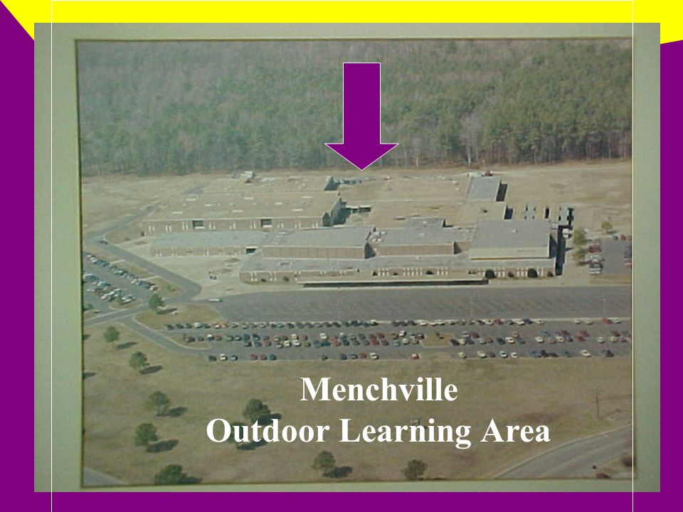 Diorama of the Menchville Outdoor Learning Area