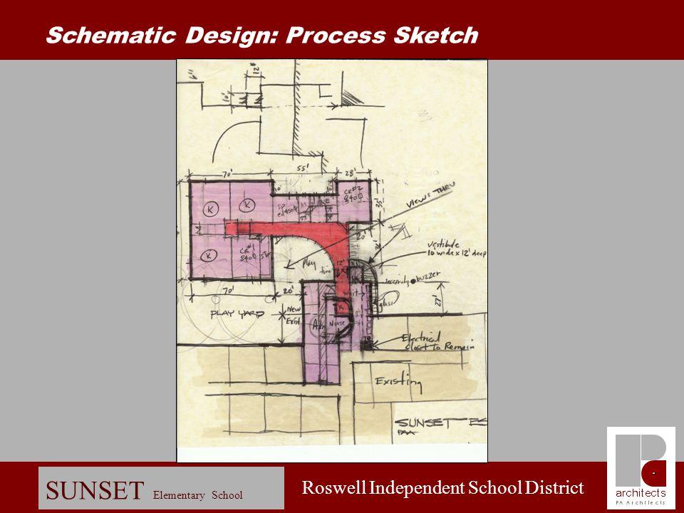 Roswell Independent School District SUNSET Elementary School Schematic Design: Site Plan