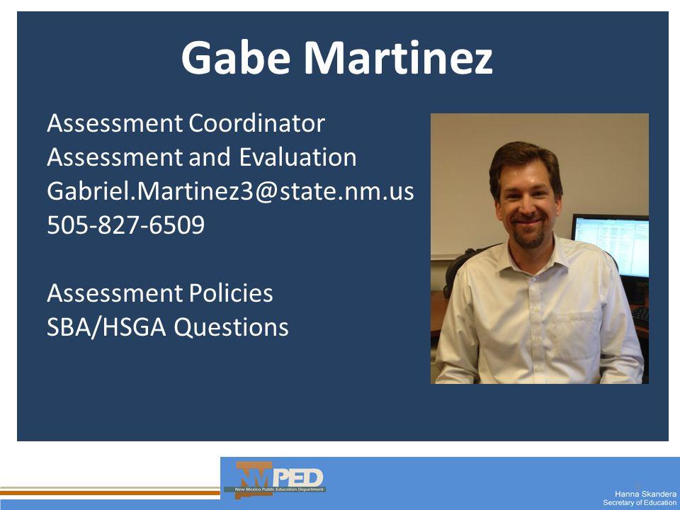 14 Lisa Salazar NM State Manager GED Testing Program Lisa.salazar@state.nm.us 505-827-6507 GED