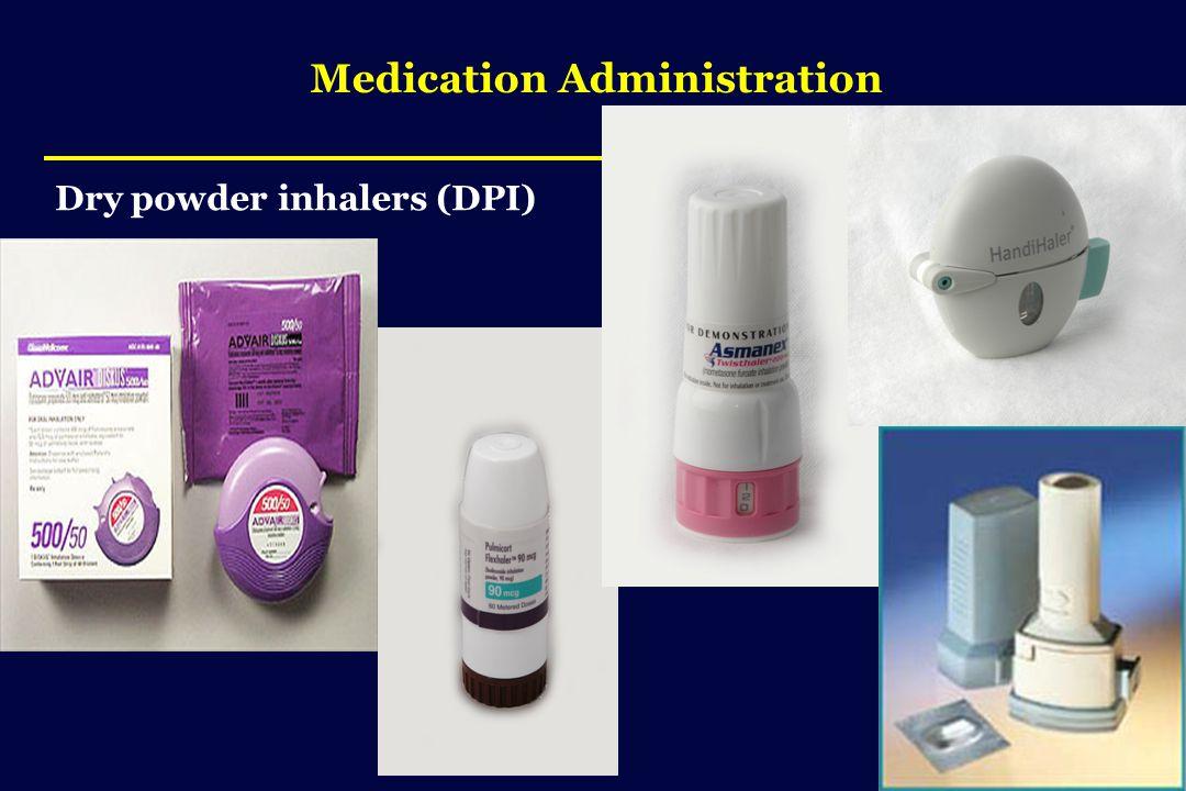 Medication Administration Dry powder inhalers (DPI)
