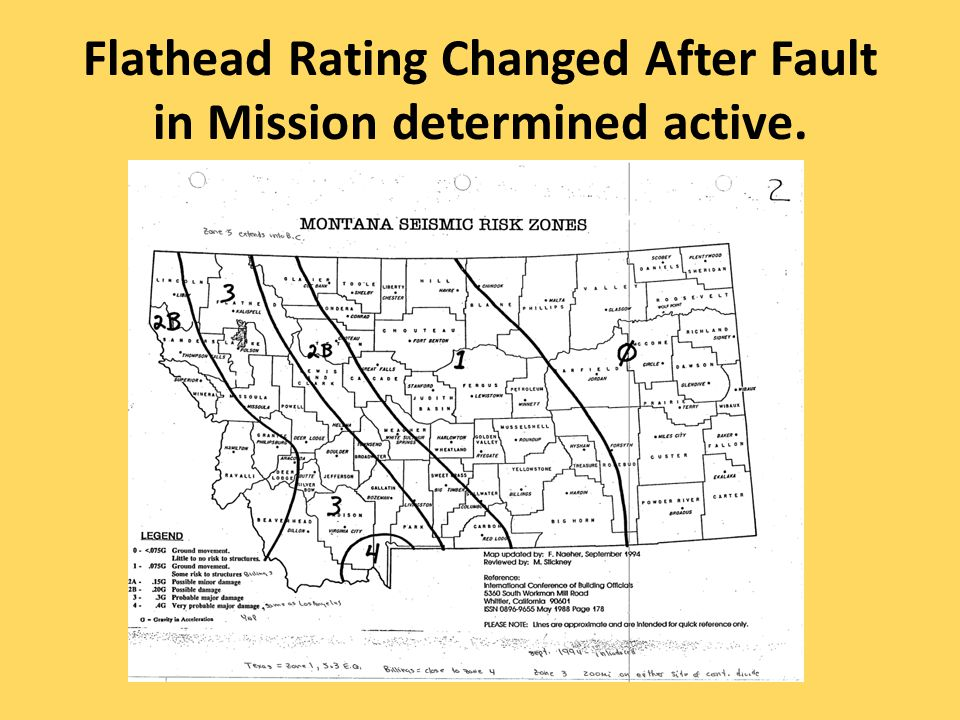 Flathead Rating Changed After Fault in Mission determined active.