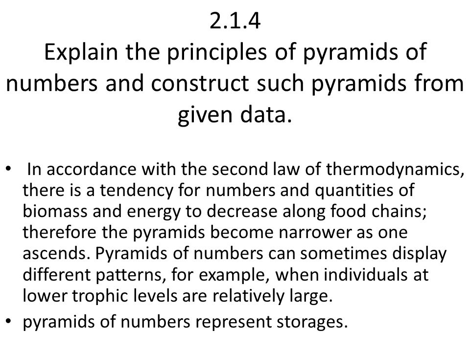 pyramids of biomass, A pyramid of biomass represents the standing stock of each trophic level measured in units such as grams of biomass per square metre (g m–2).