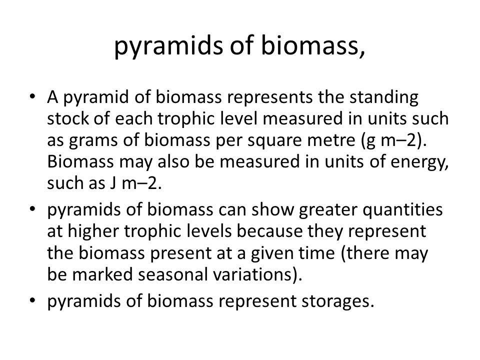 pyramids of productivity, Pyramids are graphical models of the quantitative differences that exist between the trophic levels of a single ecosystem.