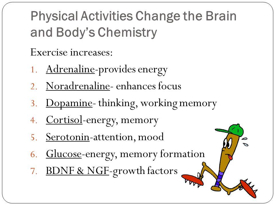 Exercise Increases Brain Cells (New Brain Cells Produced in Four Weeks) Van Praag et al, 1999, Brown, et.