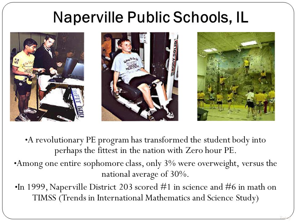 Johannes Skolen Copenhagen, Denmark School PE was increased from once a week to 5 times a week for 250 students for three months.