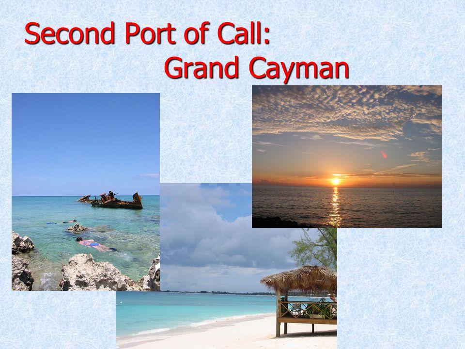 Third Port of Call: Cozumel, Mexico