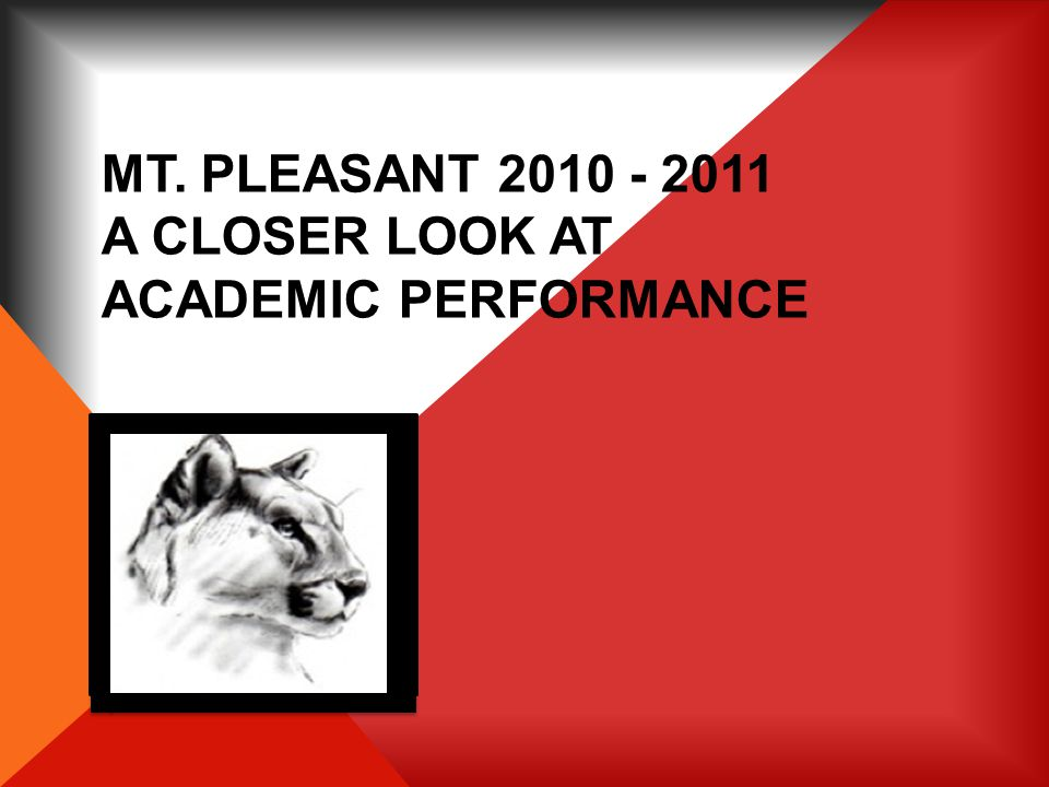 2011 MT. PLEASANT 3RD GRADE READING LANGUAGE ARTS