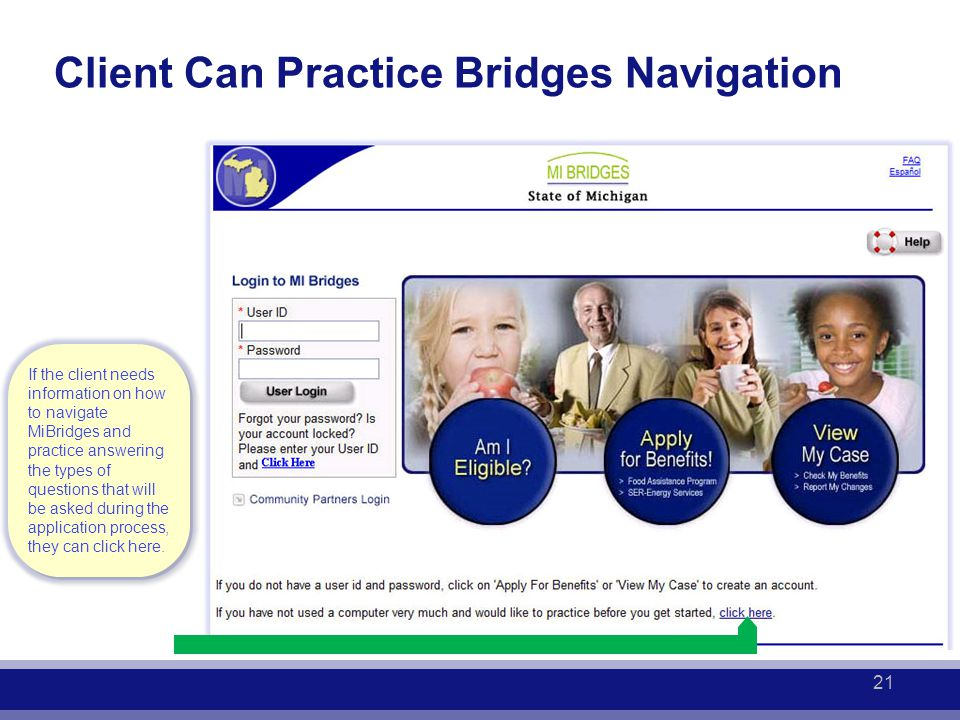 21 Client Can Practice Bridges Navigation