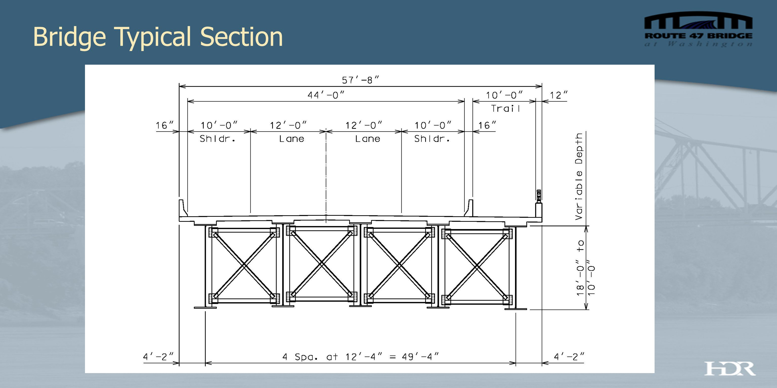 Preferred Enhancement Package Decorative Rail + Girder Lighting + Pier Lighting + Trail Lighting PrioritizationEnhancementEstimated Cost (4)Estimated Cost (4A) 1 Decorative Railing (Addition to MoDOT Credit) $380,000 2 Girder Lighting – Fade (west face only) $587,000 Girder Lighting – Fade (east and west face) $1,133,000 3 Pier Lighting $172,000 4 Trail Lighting (full length) $137,000 SUBTOTAL $1,276,000$1,822,000 3% Inflation for 3 years (9.27%) $118,000$169,000 TOTAL $1,394,000$1,991,000