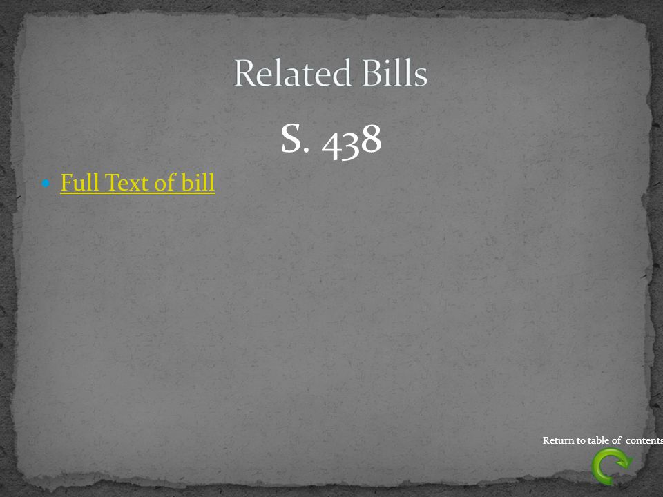 S. 438 Full Text of bill Return to table of contents