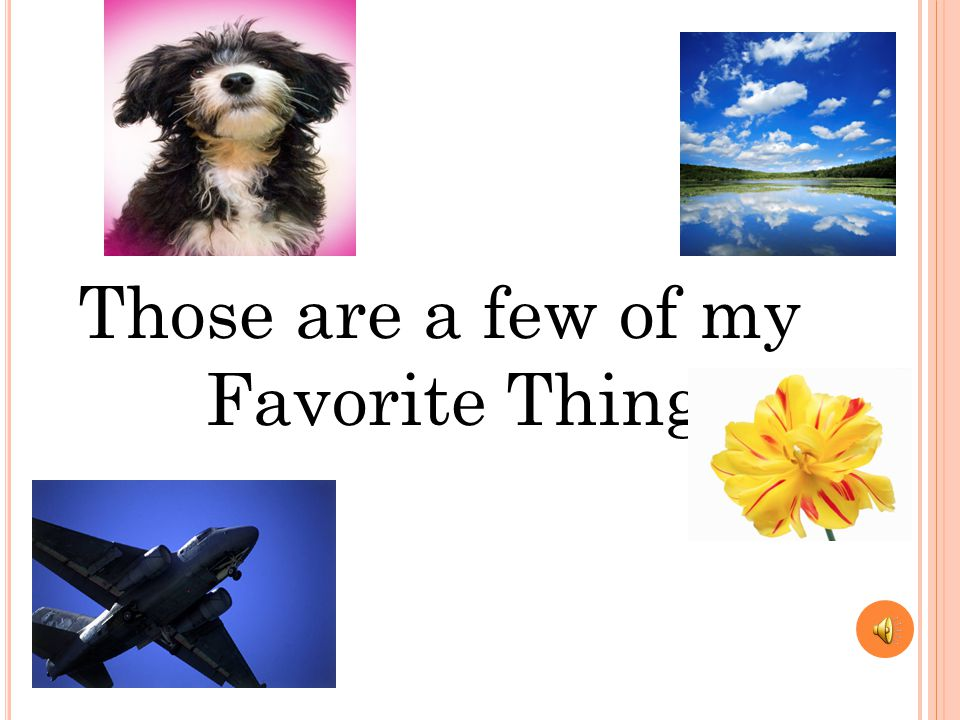 M Y TENTH FAVORITE THING My tenth favorite thing is my family I like my family because…….