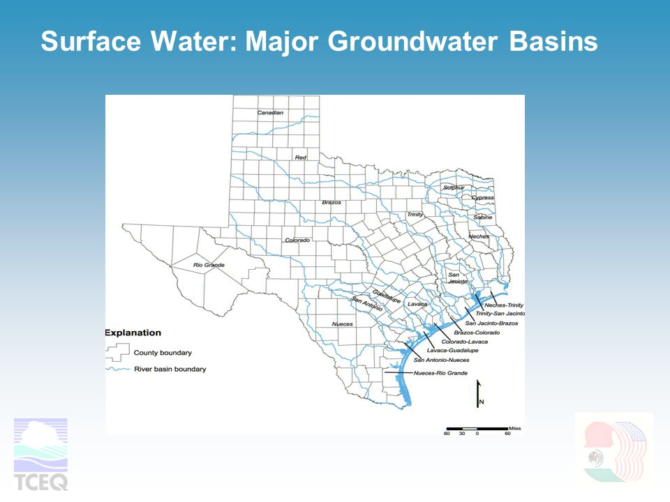 Surface Water: Major Groundwater Basins