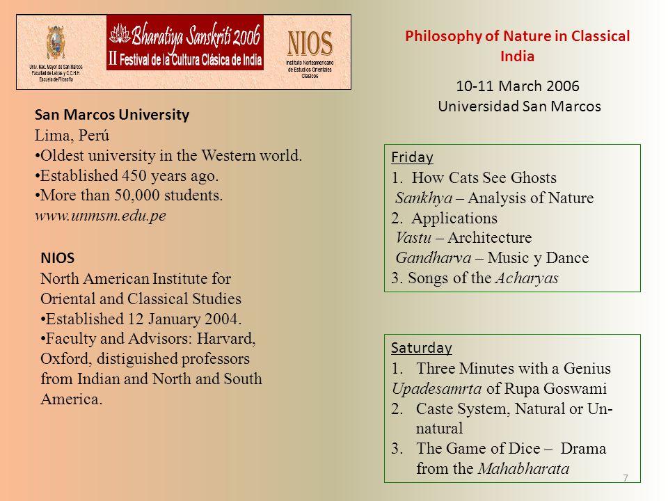 University of Calcutta Professor Samaresha Bandyopadhay First International Seminar on Science and Technology in Ancient India.