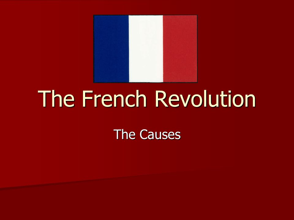 EQ: What were the underlying problems of France before the Revolution?