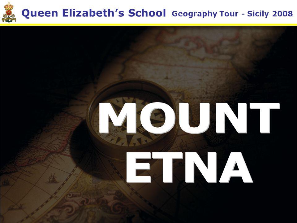 Queen Elizabeth's School Geography Tour - Sicily 2008