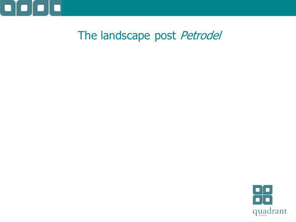 The landscape post Petrodel