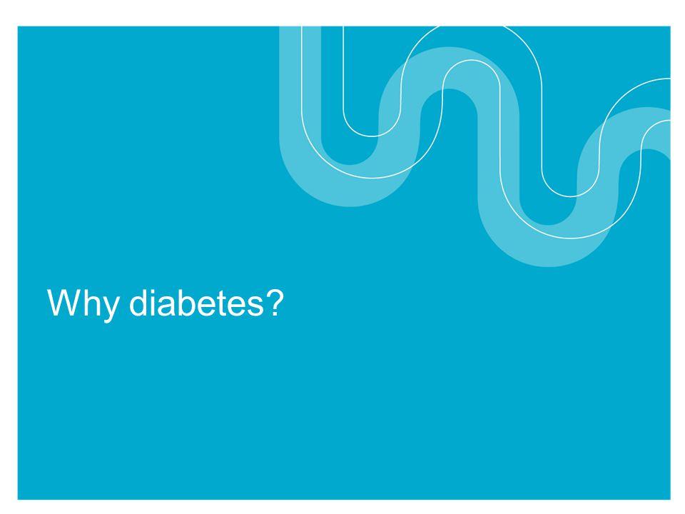 Why diabetes?