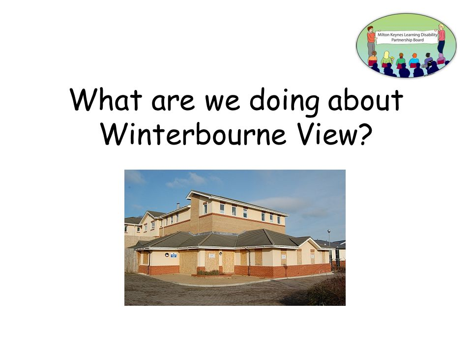 What are we doing about Winterbourne View?