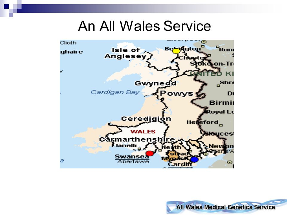 What Do We Do? Cancer Genetics Service for Wales