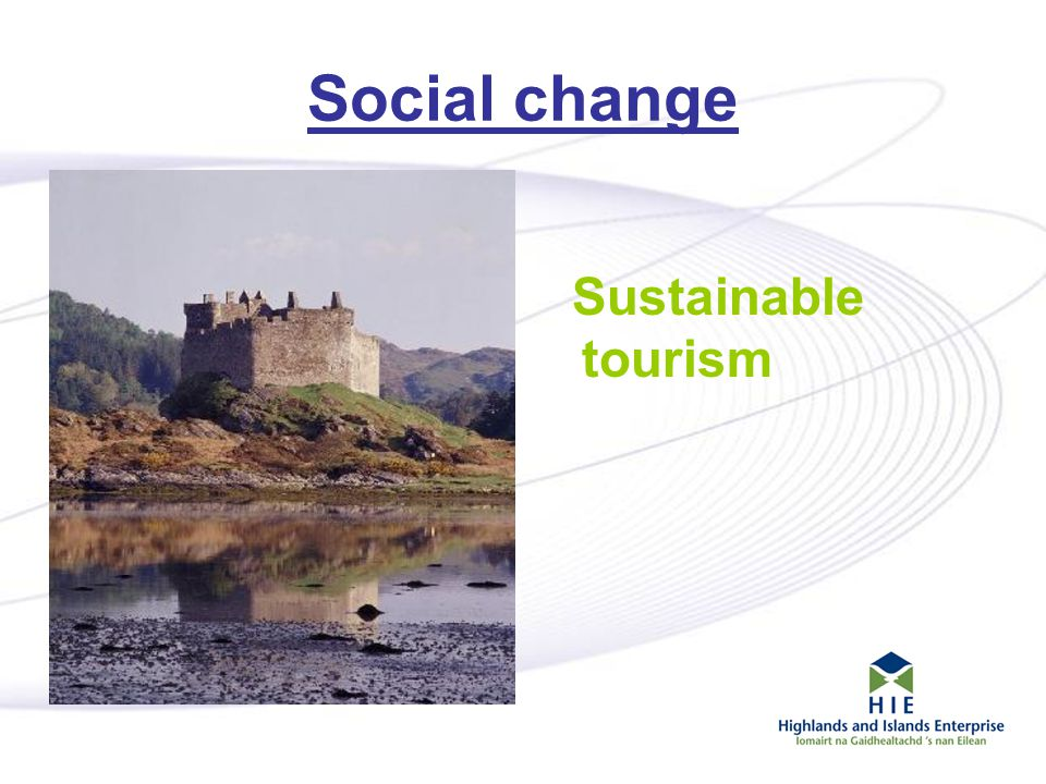11 Social change Sustainable tourism