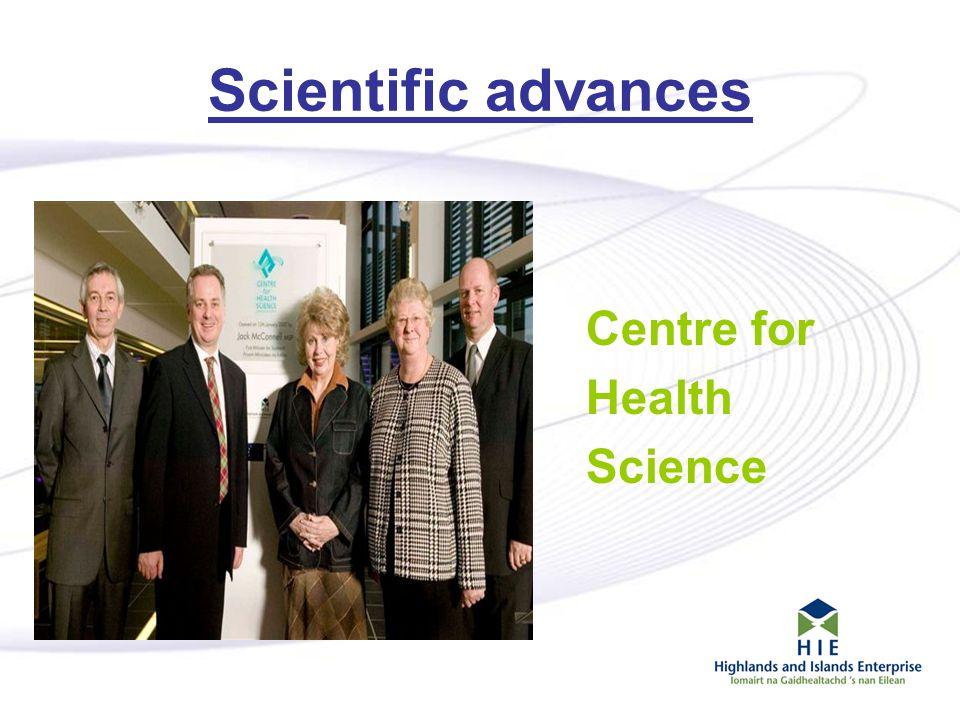 8 Scientific advances Centre for Health Science