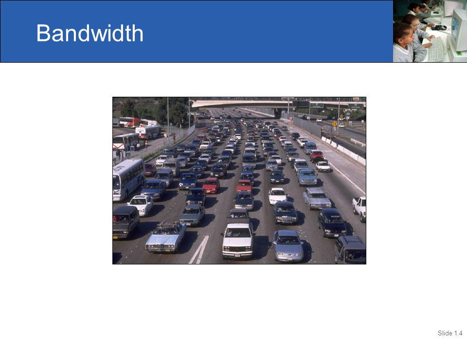 Slide 1.4 Bandwidth