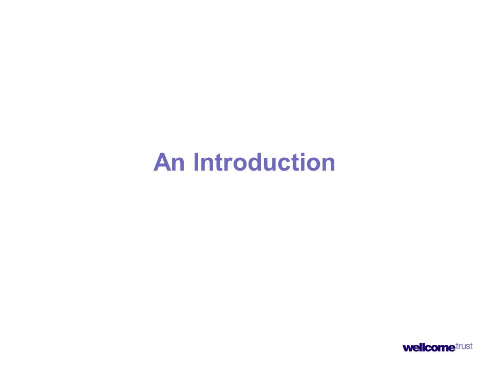 An Introduction