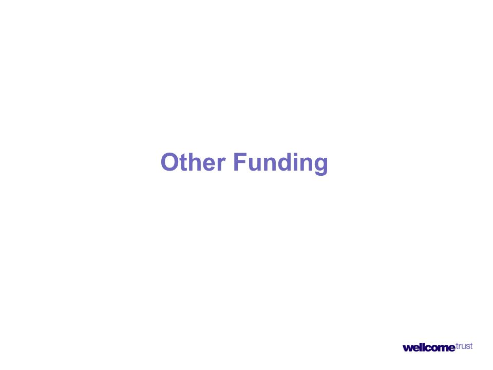 Other Funding