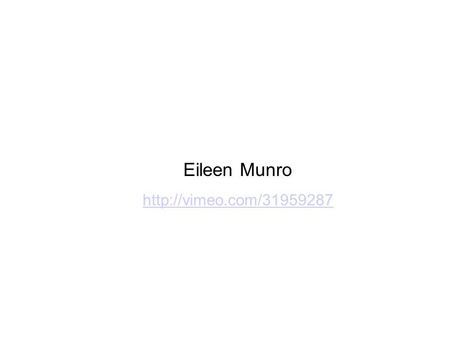 Eileen Munro http://vimeo.com/31959287