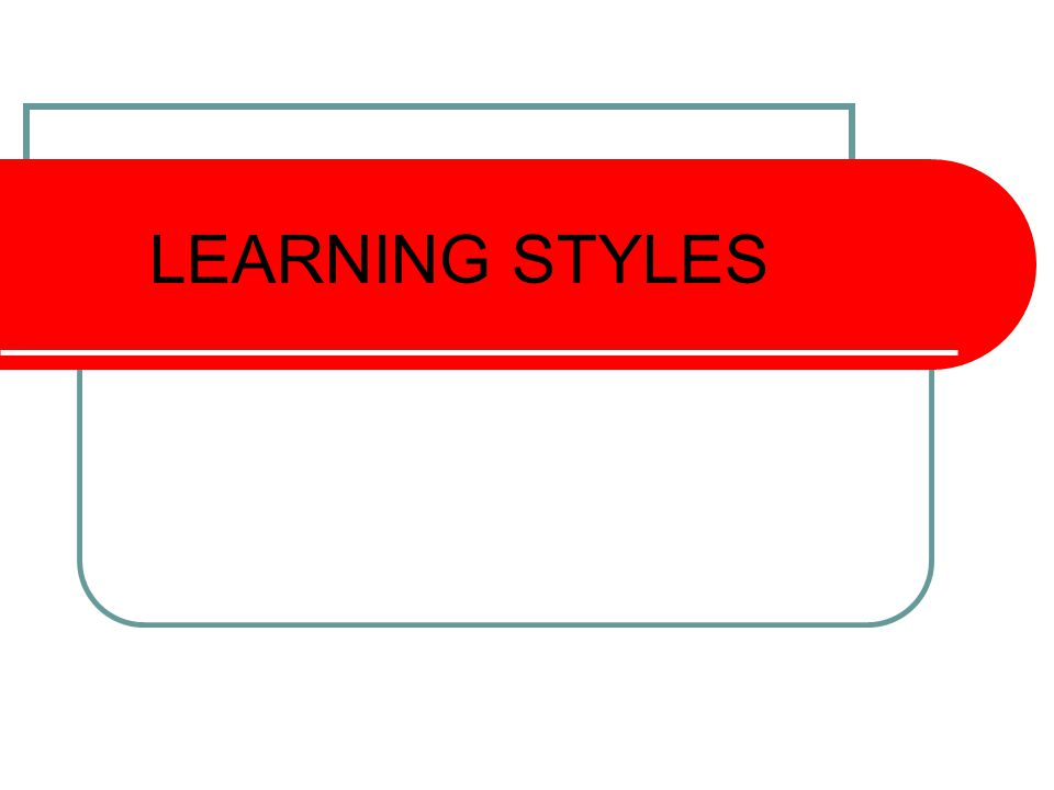 Learning Styles How can I help.Is the one question asked by parents.