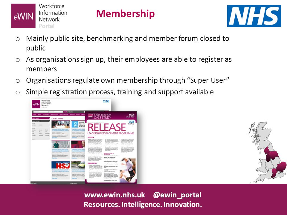www.ewin.nhs.uk @ewin_portal Resources. Intelligence.