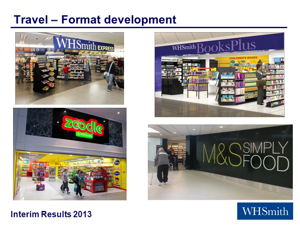 Interim Results 2013 Travel – Format development