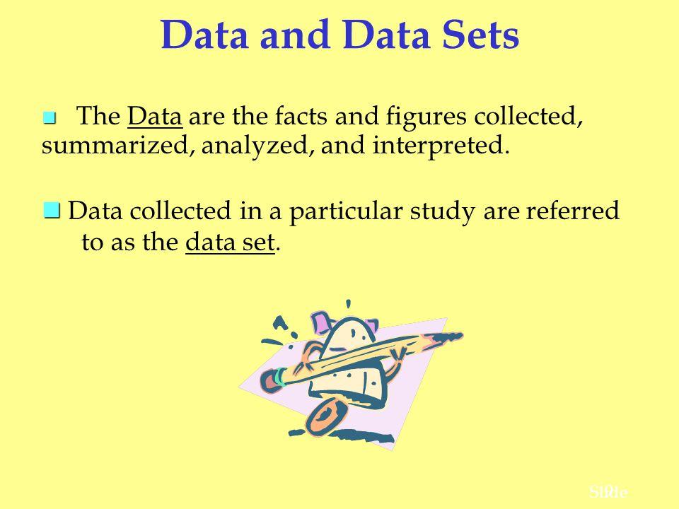 20 Slide What Is Statistics.