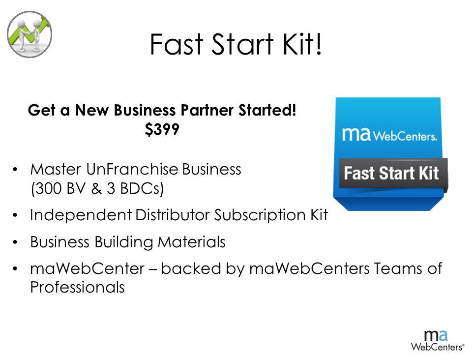 Fast Start Kit.