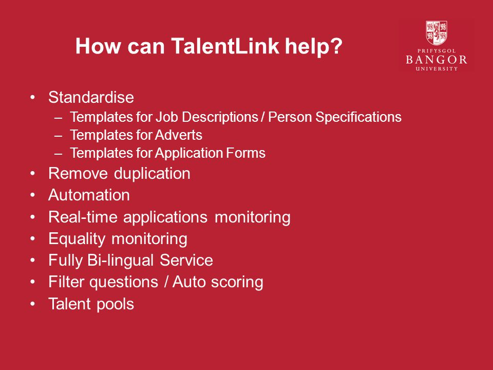 How can TalentLink help.