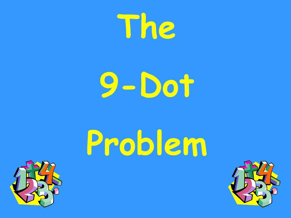 The 9-Dot Problem