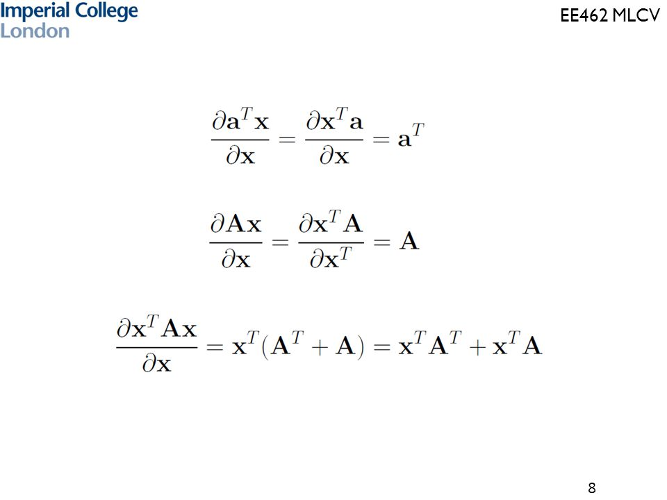 EE462 MLCV 29 Information Theory (for Lecture 7-8)