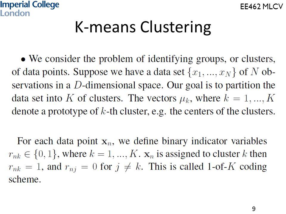 9 K-means Clustering